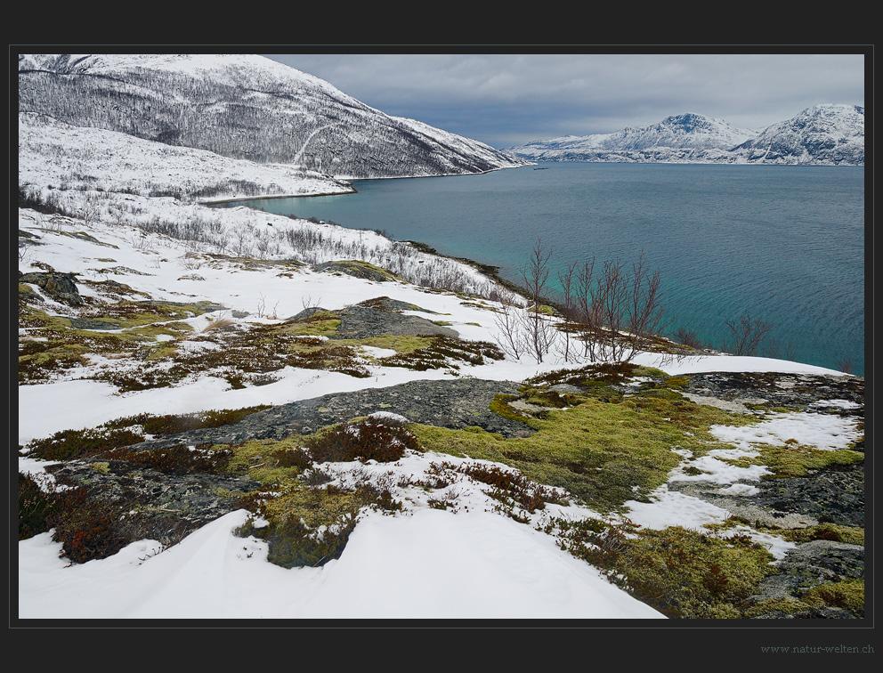 Schlechtes Wetter am Fjord