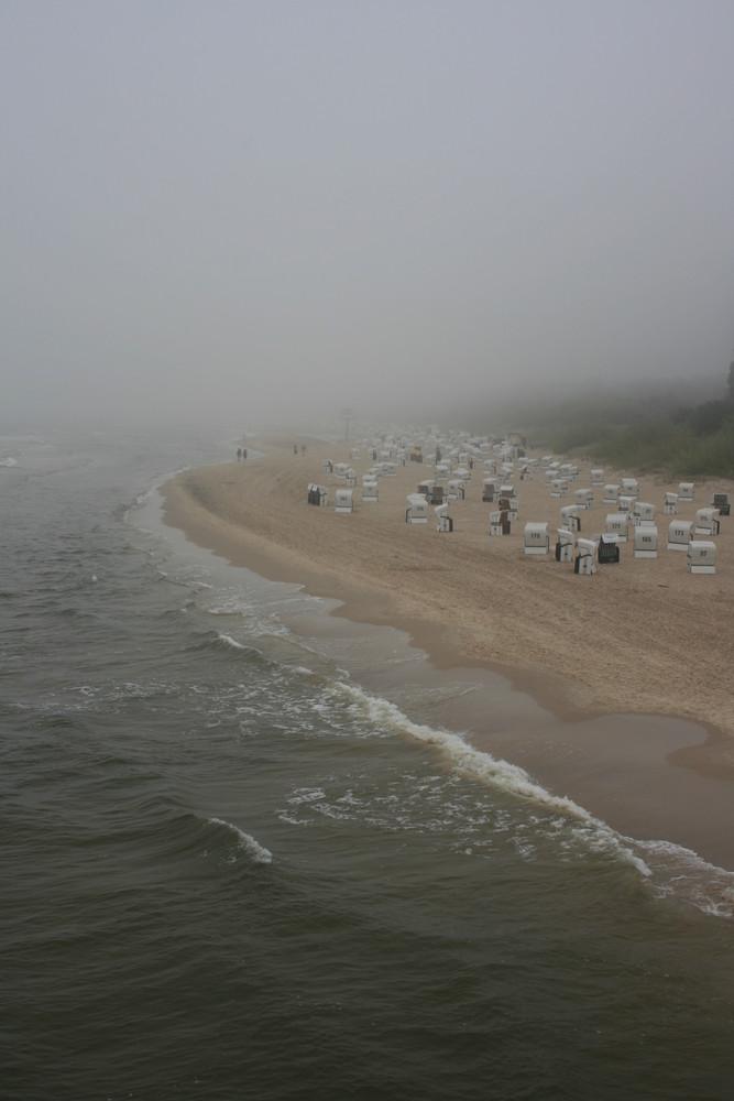 Schlechtes Wetter auf Usedom
