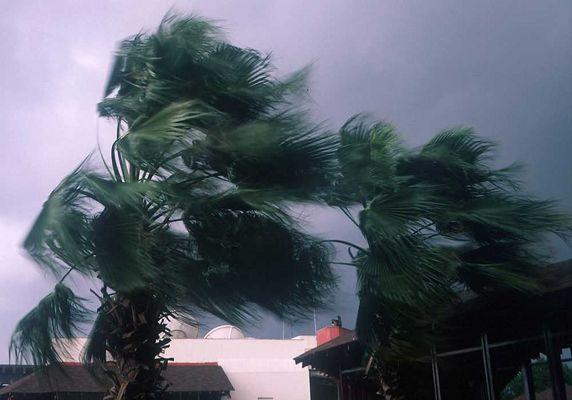 Schlechtwetter in Antalya