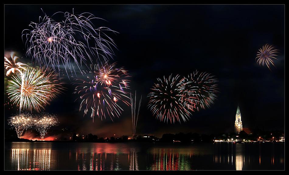 Schlei Feuerwerk