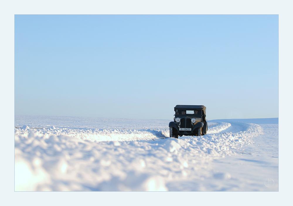 Schlesische Winterfahrt ...