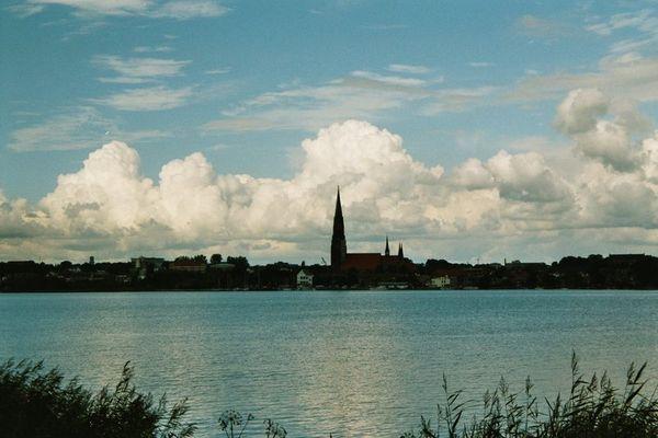 Schleswig an einem gemischten Tag