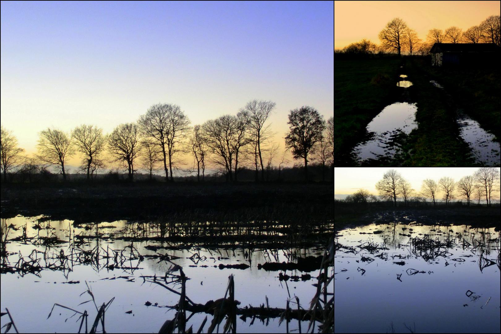 Schleswig-Holstein ist geflutet.