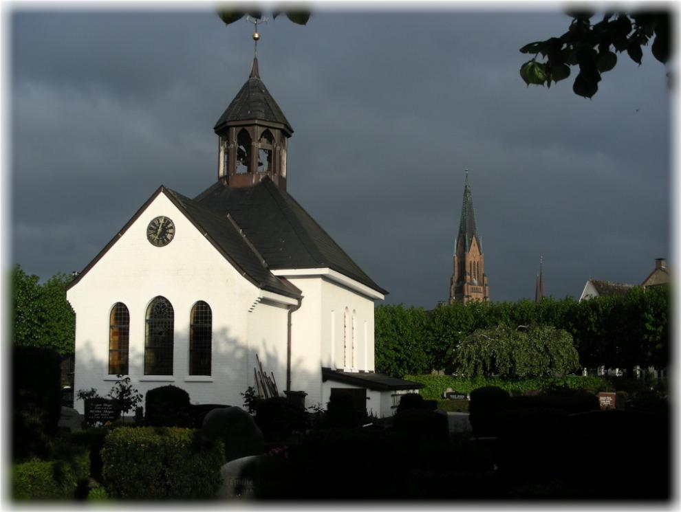Schleswig vor dem gewitter