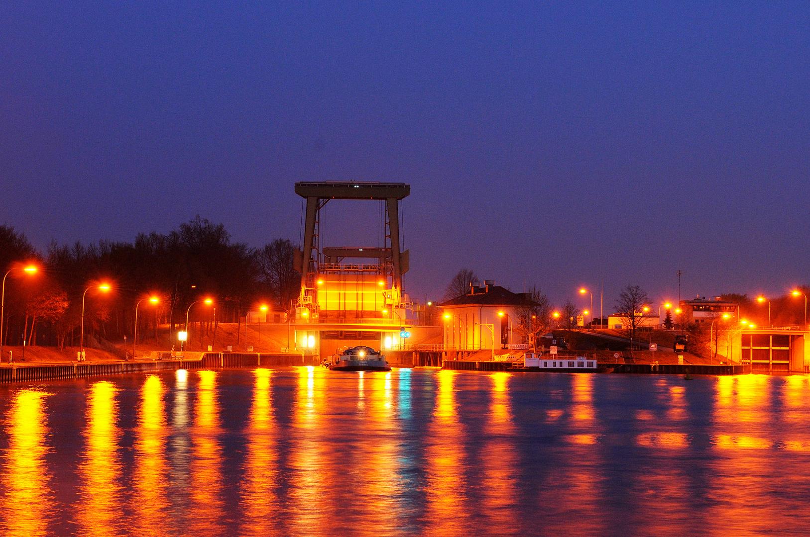 Schleuse am Dattel-Hamm-Kanal