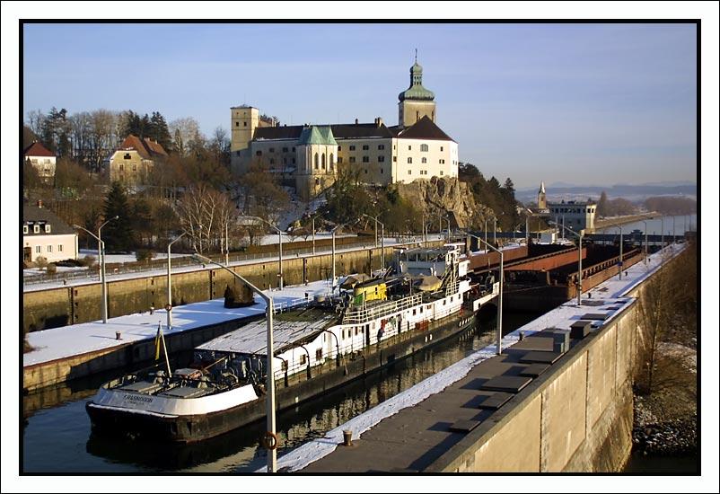 Schleuse bei Ybbs/Donau