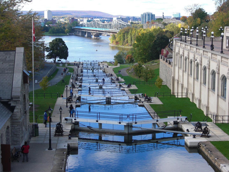 Schleusensystem in Ottawa