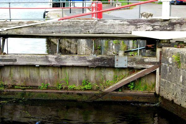Schleusentor am Lock Roosky/Irland