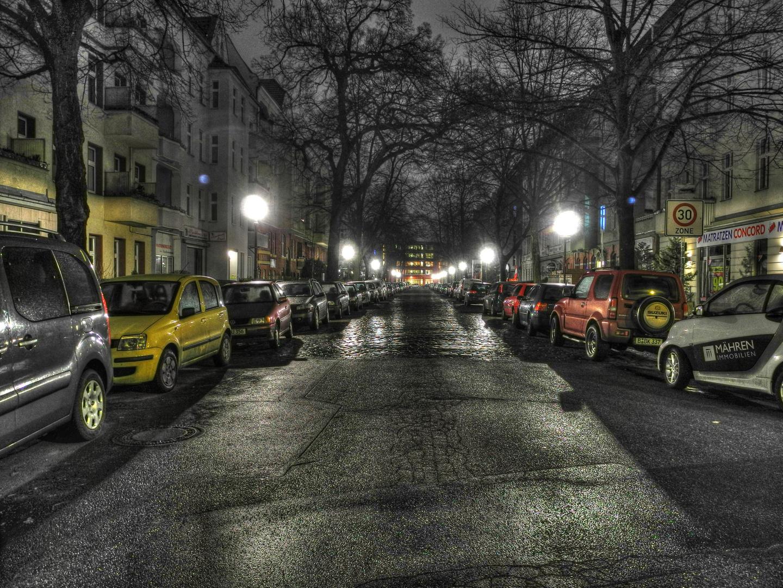 Schlieperstraße @Night