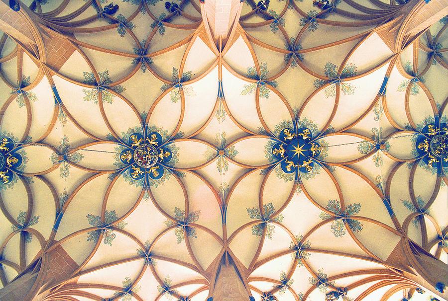 Schlingrippengewölbe in der Annenkirche zu Annaberg