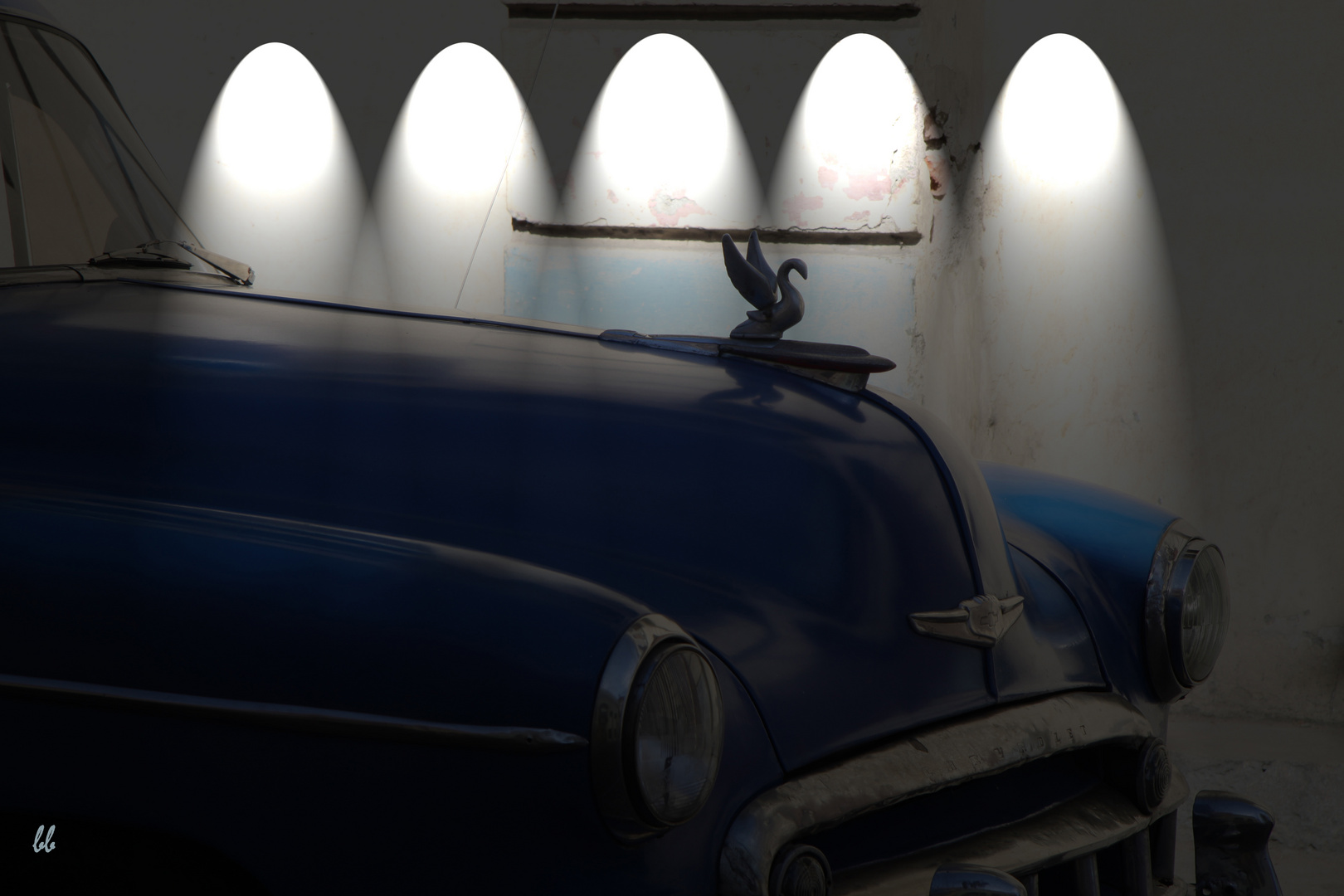 Schlitten in Kuba