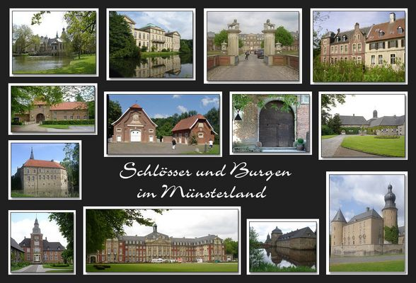 Schlösser & Burgen im Münsterland