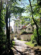 Schloss Achberg am Pfingstsonntag.