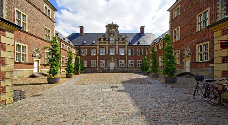 Schloss Ahaus, Innenhof.