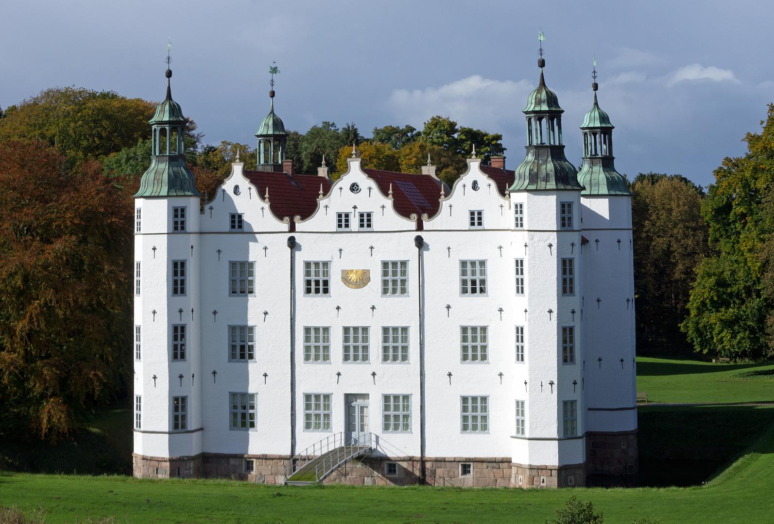 Schloss Ahrensburg via Flugdrohne