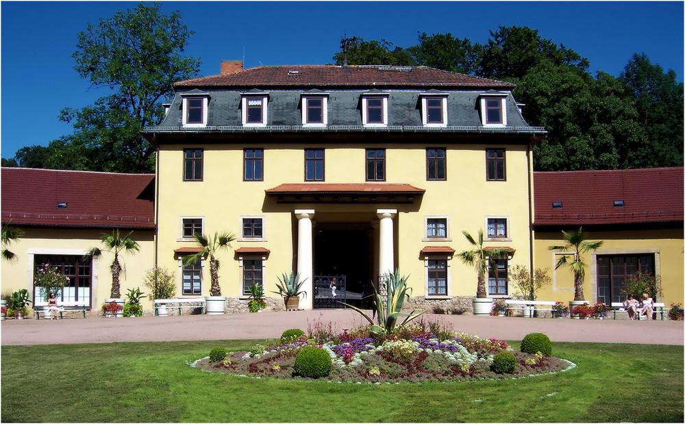 Schloss Altenstein in Thüringen ( Eingang zum Park )