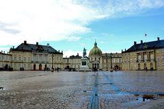 Schloss Amalienborg in Kopenhagen