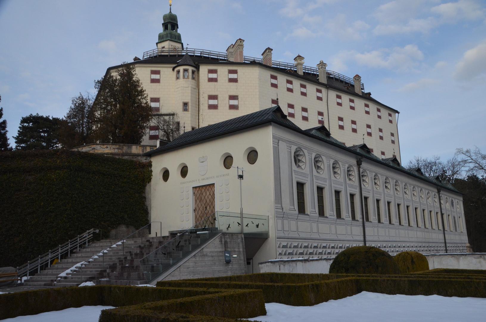 Schloss Ambras mit dem Spanischen Saal