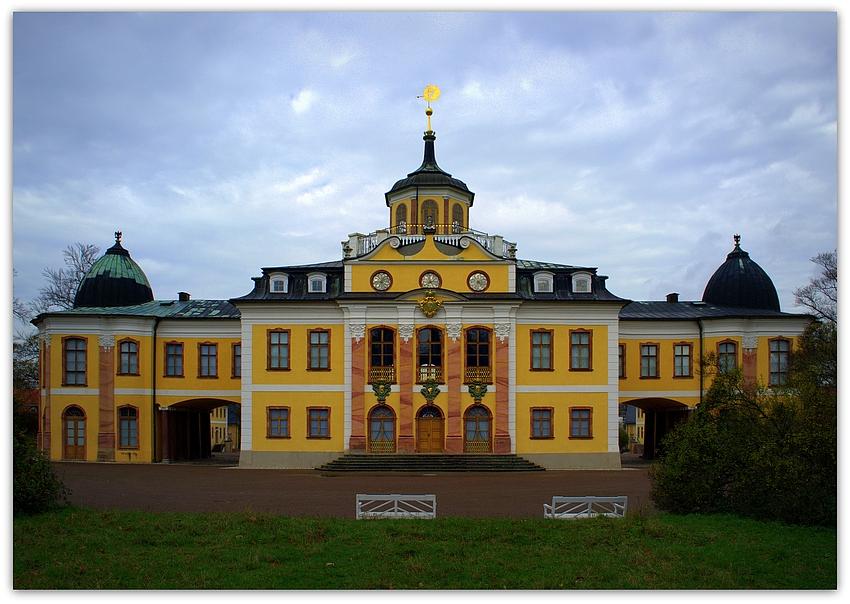 Schloss Belvedere in Weimar - Südansicht