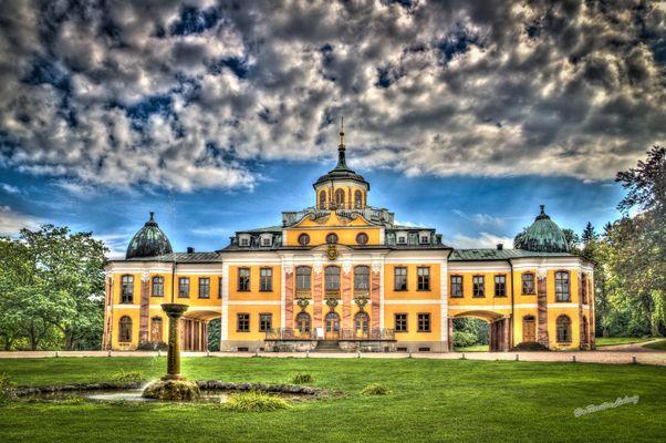 Schloss Belvedere, Weimar, HDR
