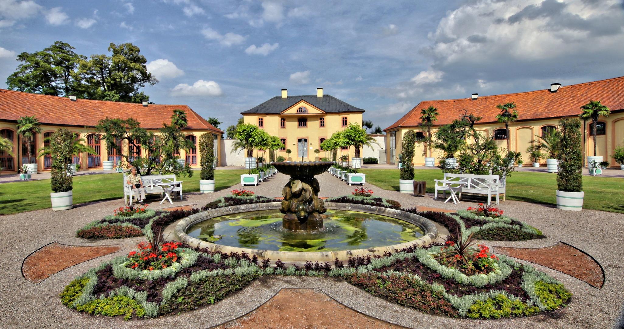 Schloss Belvedere Weimar - Orangerie