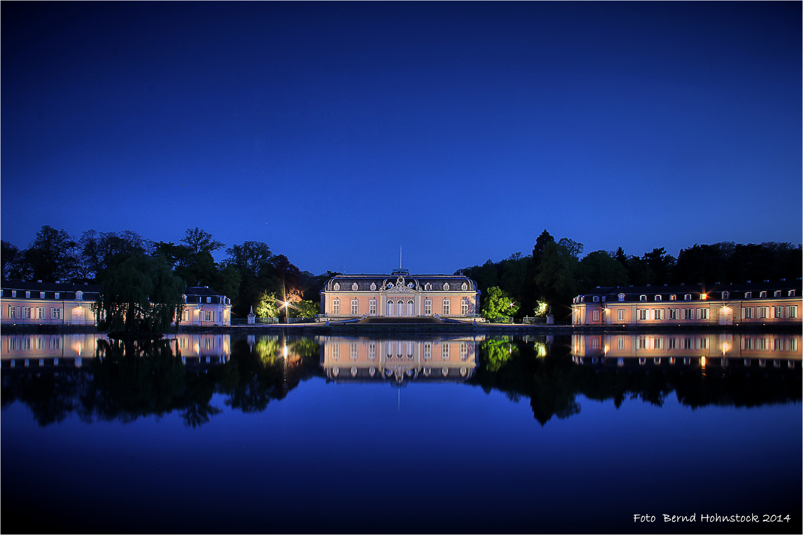 Schloss Benrath zu Dssd. am Rhein ...