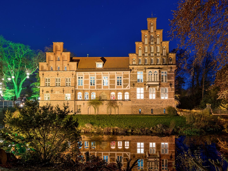 Schloss Bergedorf Stadtseite