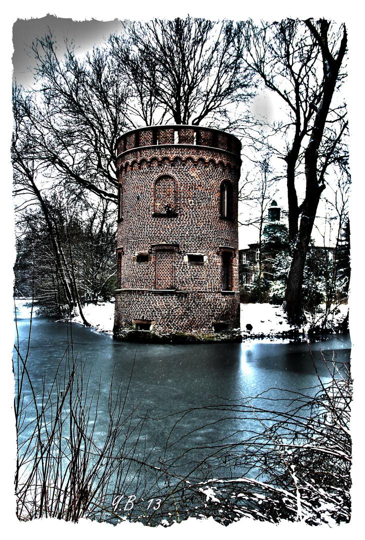Schloss Bladenhorst der Turm