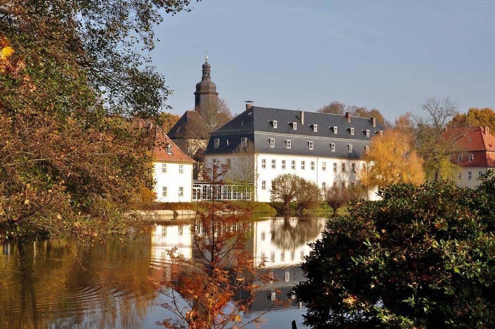 Schloss Blankenhain............ im Herbstkleid