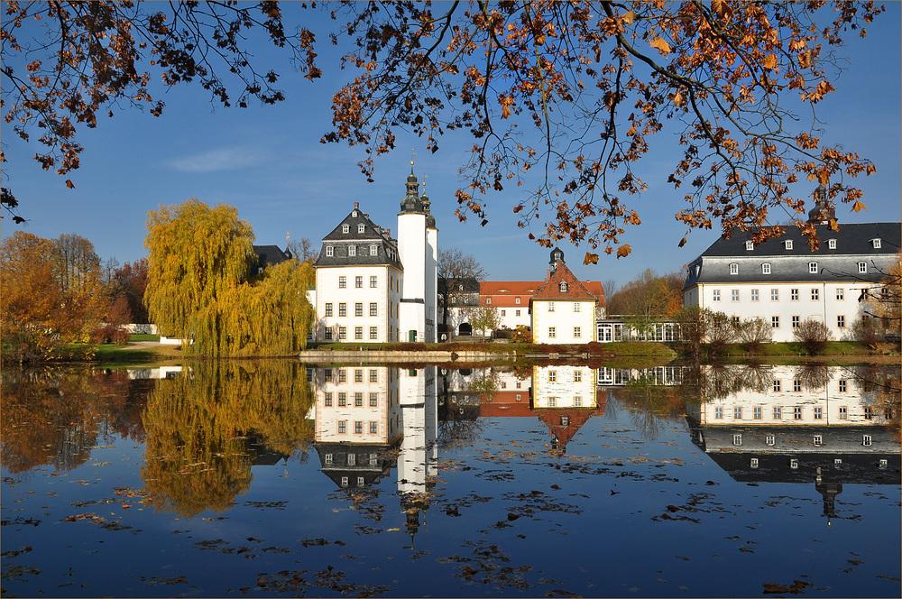 Schloss Blankenhain............. im Herbstkleid