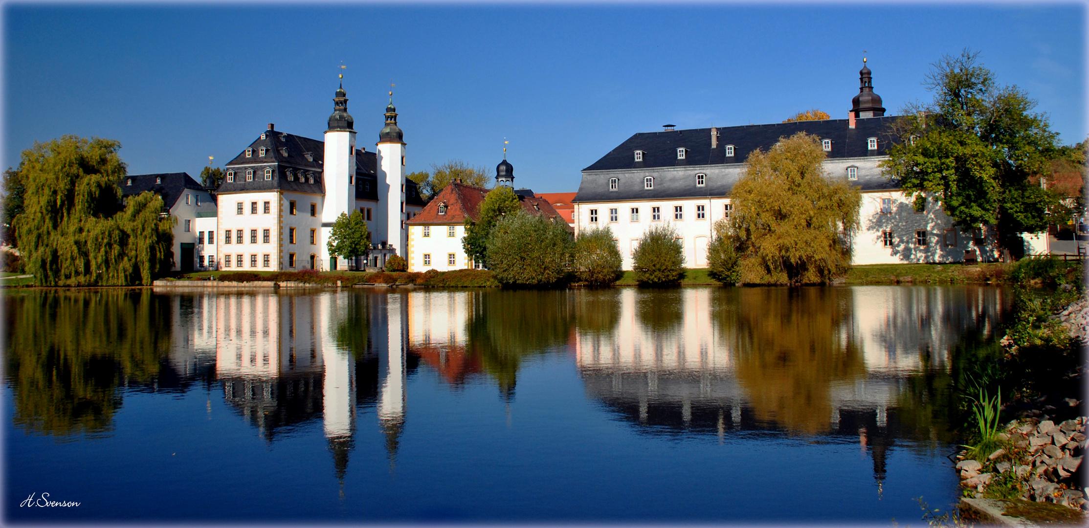 Schloss Blankenhain im Oktober