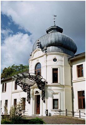 Schloss Blücherhof, Haupteingang