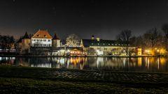 Schloss Blutenburg bei Nacht