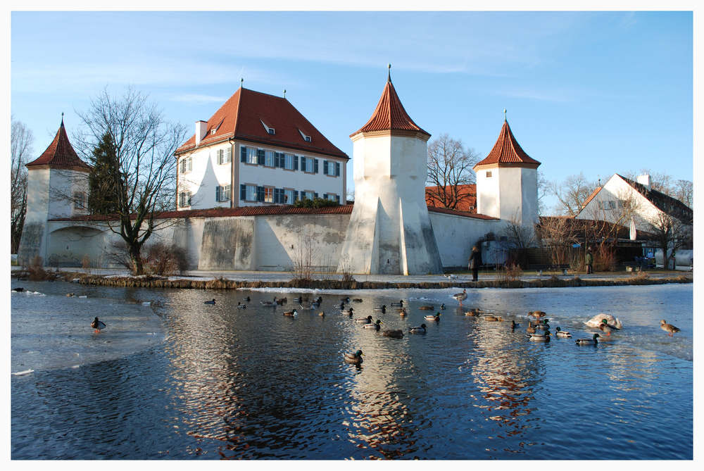 Schloss Blutenburg und die Enten