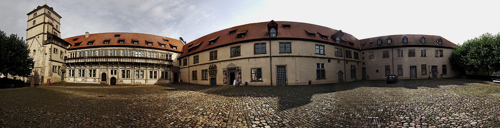 Schloss Brake - Panorama