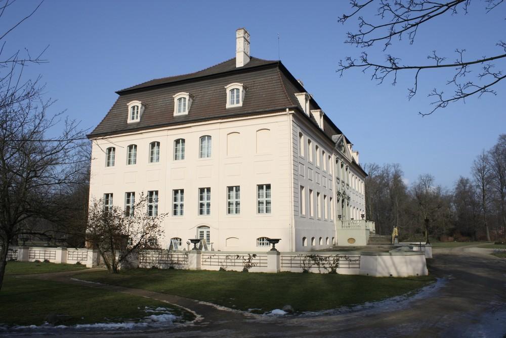 Schloss Branitz Seitenansicht