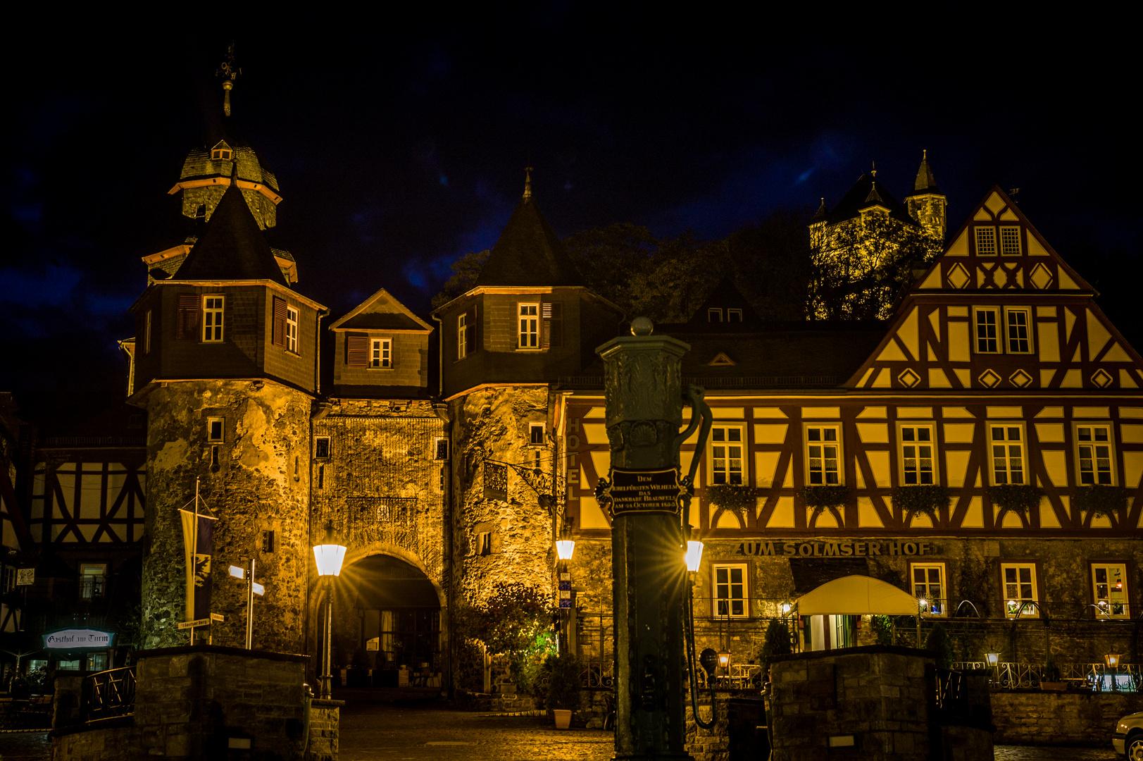 Schloss Braunfels bei Nacht (II)