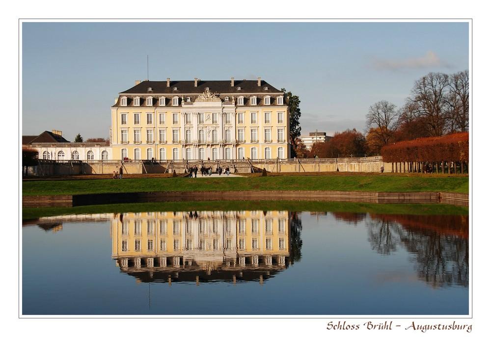"""""""Schloss Brühl ..."""""""