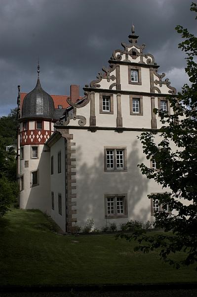 Schloß Buchenau bei Bad Hersfeld von Linda Floren