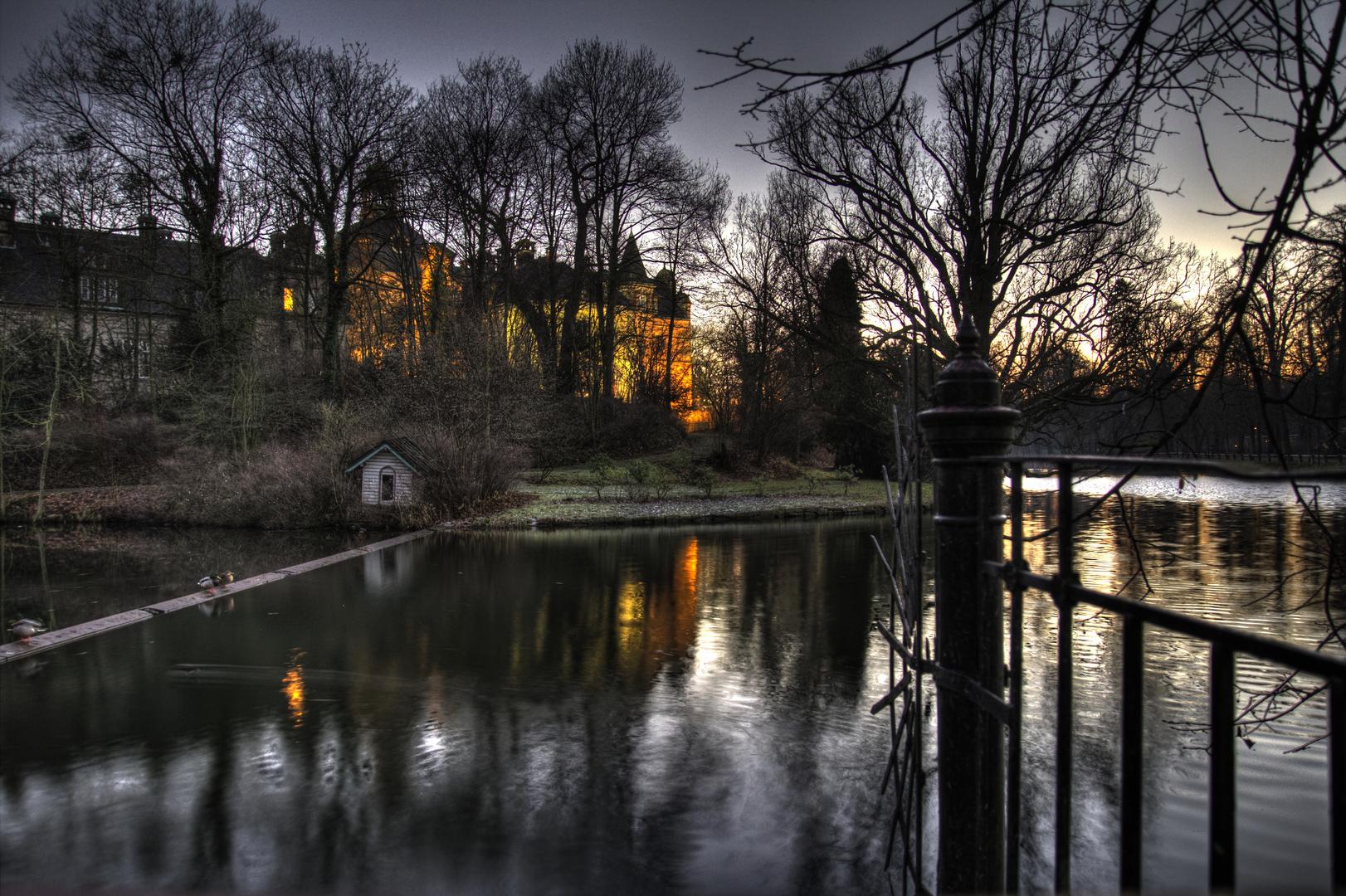 Schloss Bückeburg am Abend