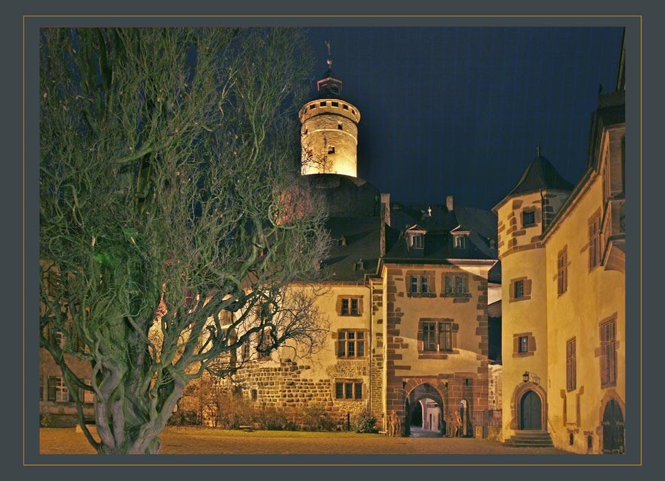 Schloss Büdingen - Innenhof
