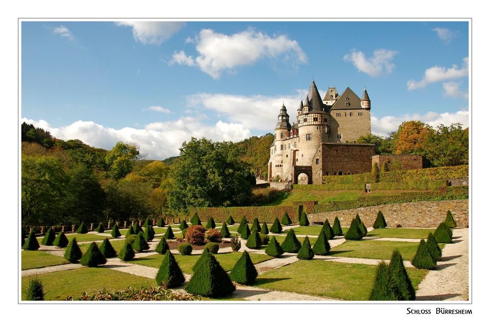 """Schloss Bürresheim mit barockem Garten"""