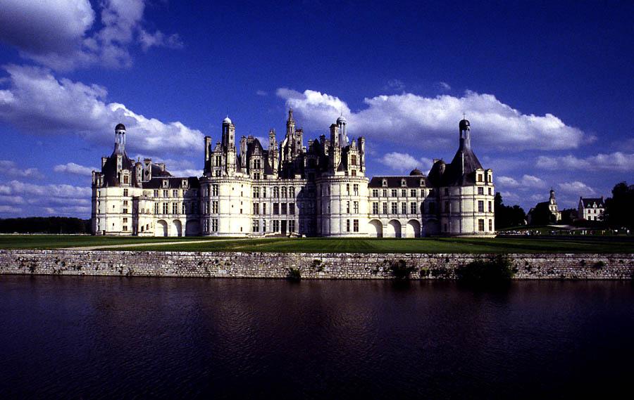 Schloss Chambord im Departement Loir-et-Cher #1