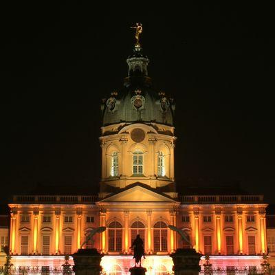 Schloss Charlottenburg (Berlin) beim Festival of Lights 2009