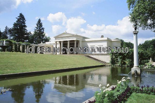 Schloss Charlottenhof, Park Charlottenhof, Park Sanssouci Potsdam