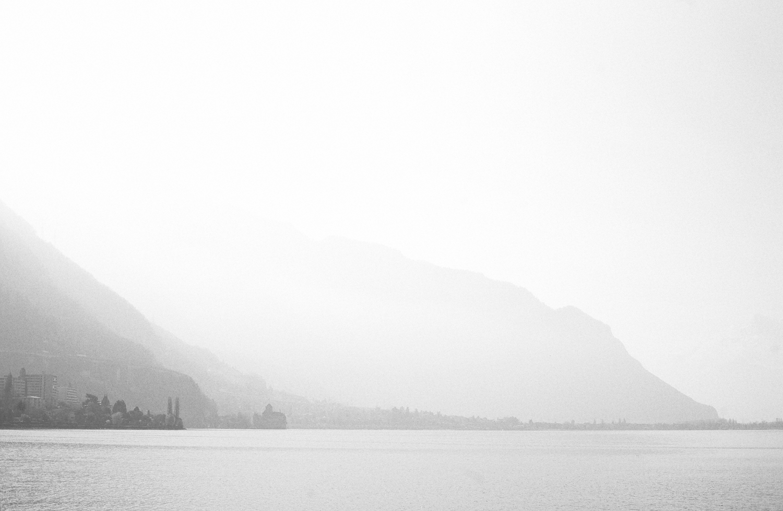 Schloss Chillon im Morgendunst