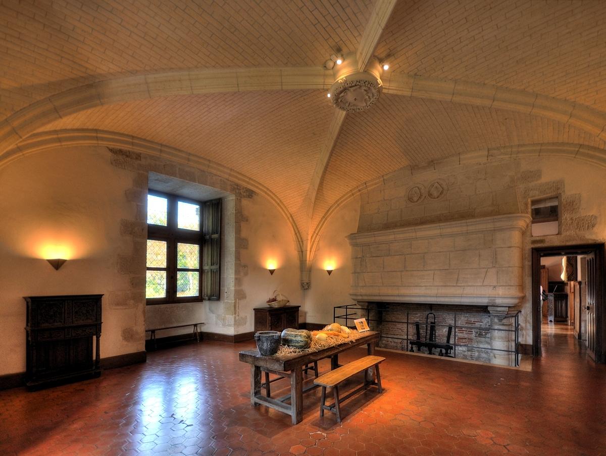 Schloss d'Azay le Rideau 04
