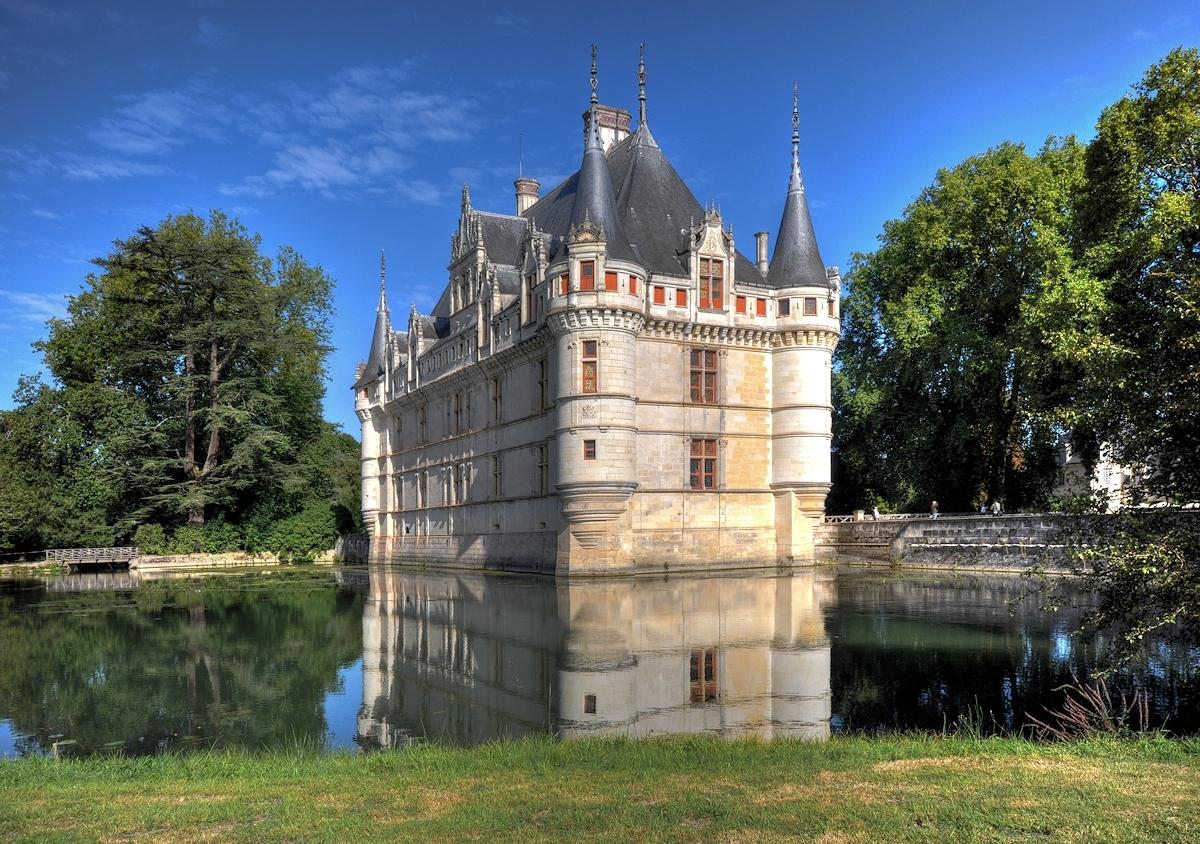 Schloss d'Azay le Rideau 06