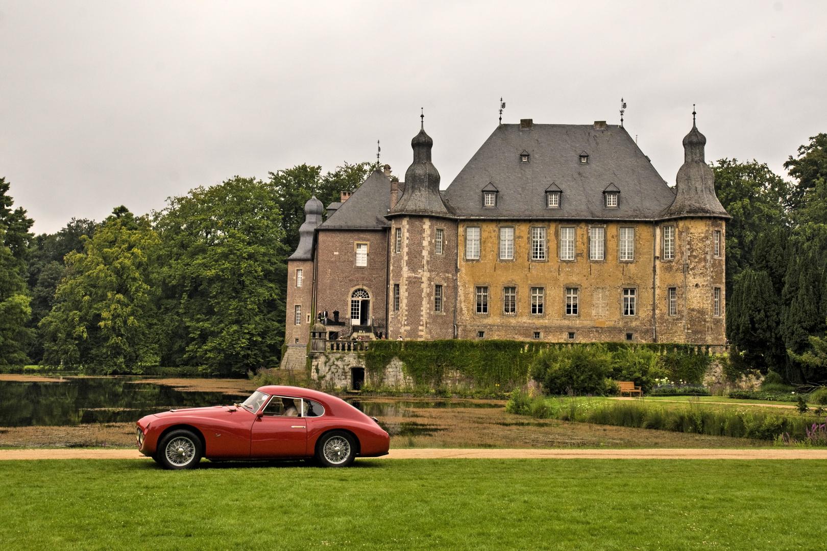 Schloss Dyck, ab den 1.August ist es soweit, die Classic Days 2014
