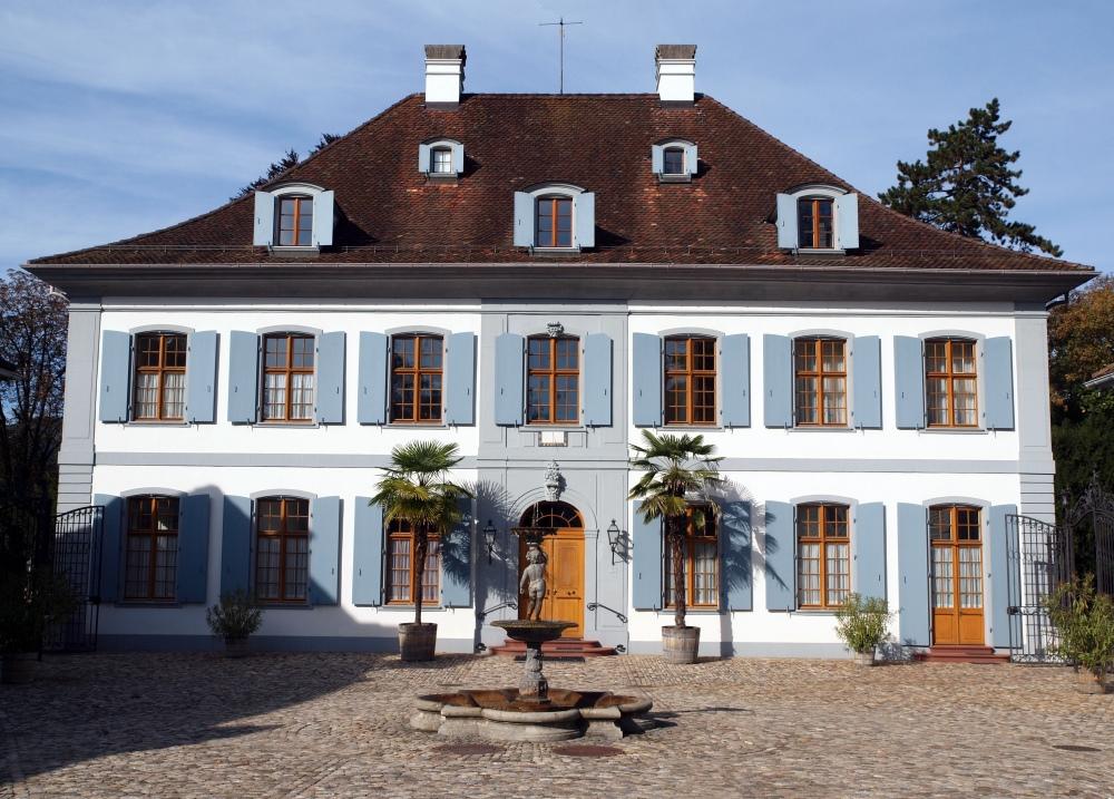 Schloss Ebenrain Rückseite